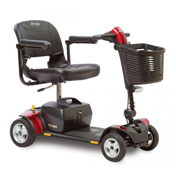 GoGo Elite Plus- 4 Wheel - Red